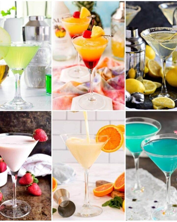Sweet martini collage