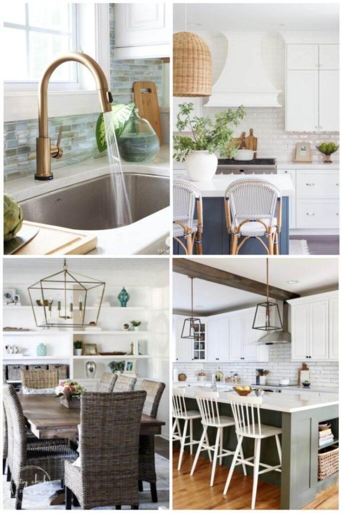 Kitchen sink, island, table, island